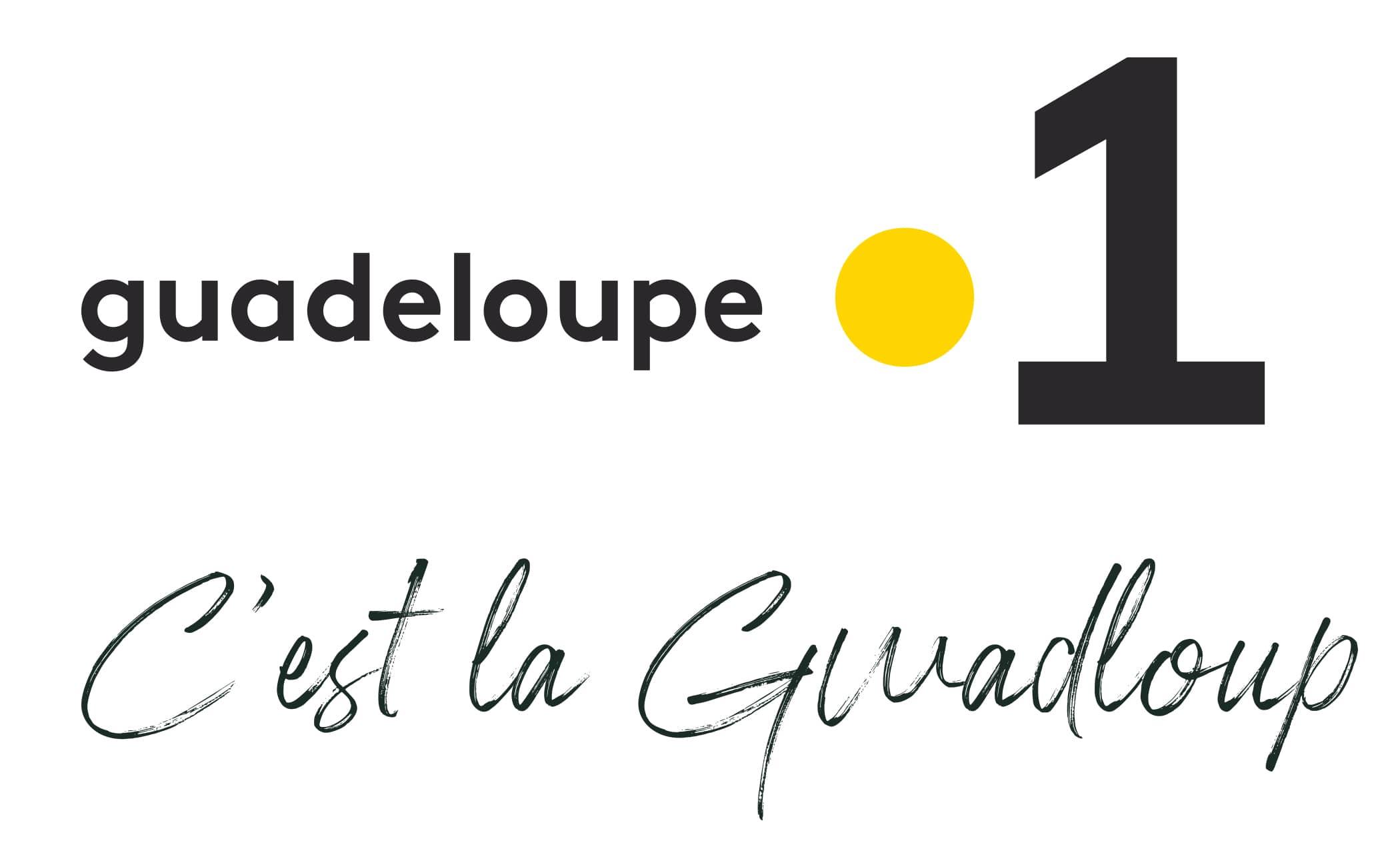 Logo Guadeloupe La 1ère, c'est la Guadeloupe