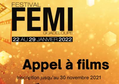 Appel à Films FEMI 2022